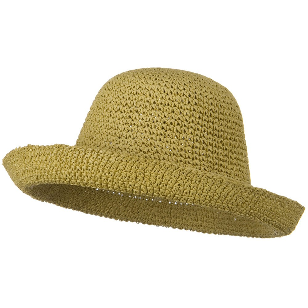 Toyo Roller Self Tie Hat - Tan - Hats and Caps Online Shop - Hip Head Gear