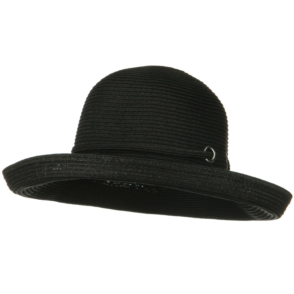 Woman's Kettle Wide Brim Hat - Black - Hats and Caps Online Shop - Hip Head Gear