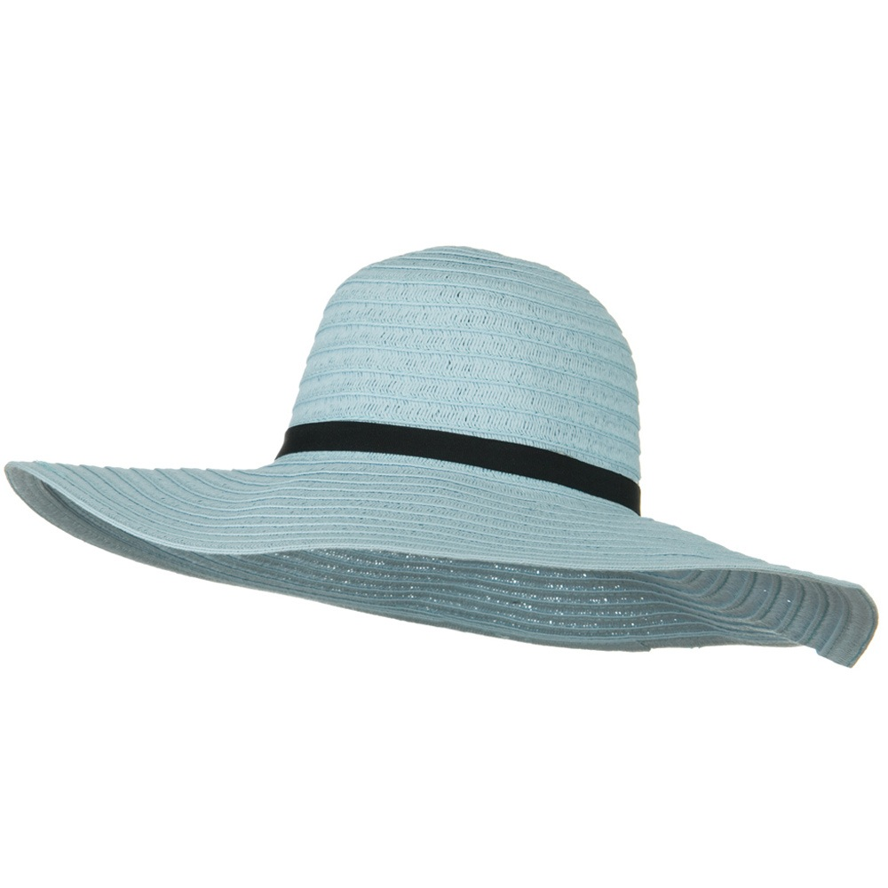 Ladies Fashion Toyo Solid Hat - Blue - Hats and Caps Online Shop - Hip Head Gear
