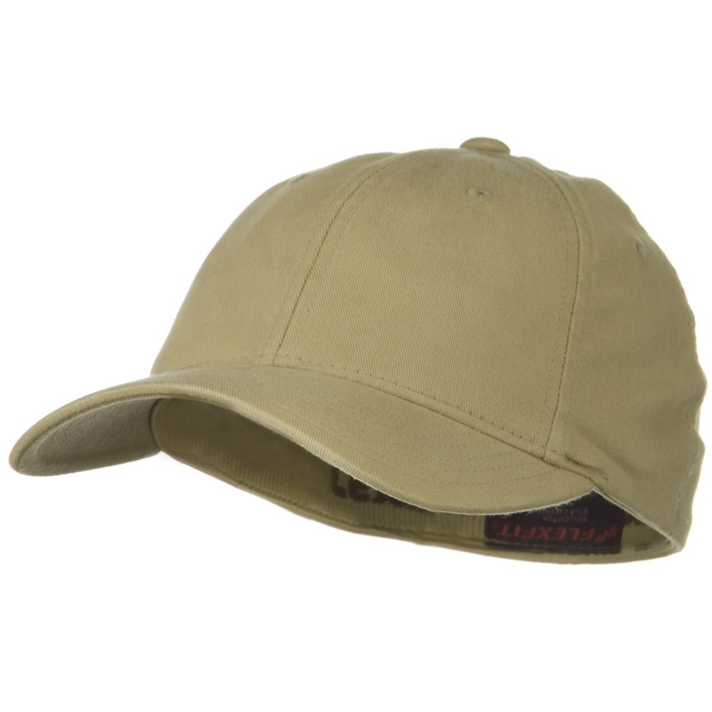 Flexfit Garment Washed Cotton Cap - Khaki - Hats and Caps Online Shop - Hip Head Gear