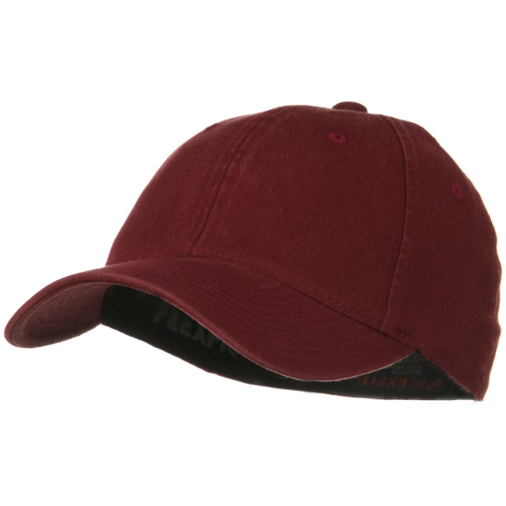 Flexfit Garment Washed Cotton Cap - Maroon - Hats and Caps Online Shop - Hip Head Gear