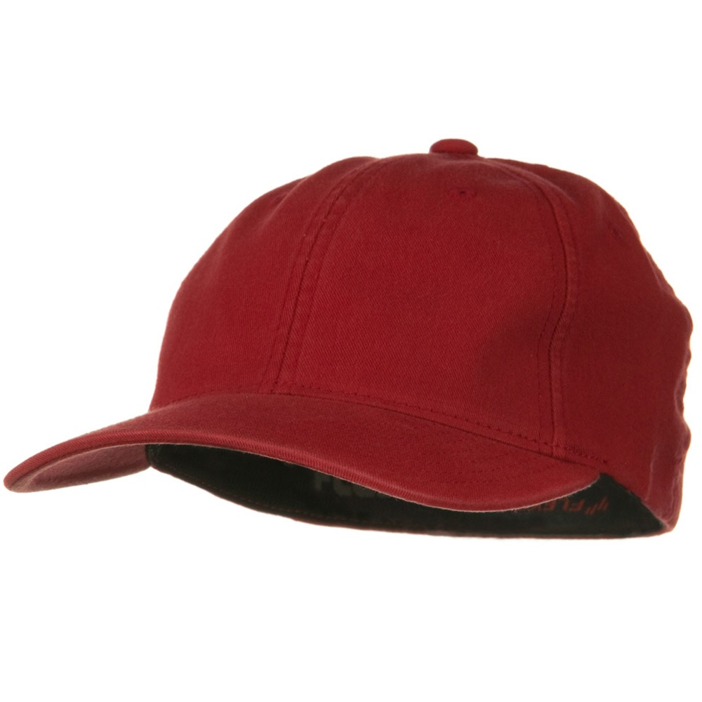 Flexfit Garment Washed Cotton Cap - Red - Hats and Caps Online Shop - Hip Head Gear