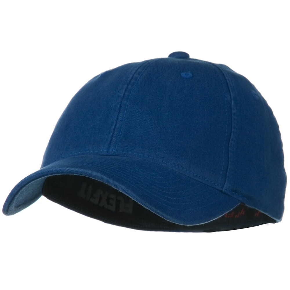 Flexfit Garment Washed Cotton Cap - Royal - Hats and Caps Online Shop - Hip Head Gear