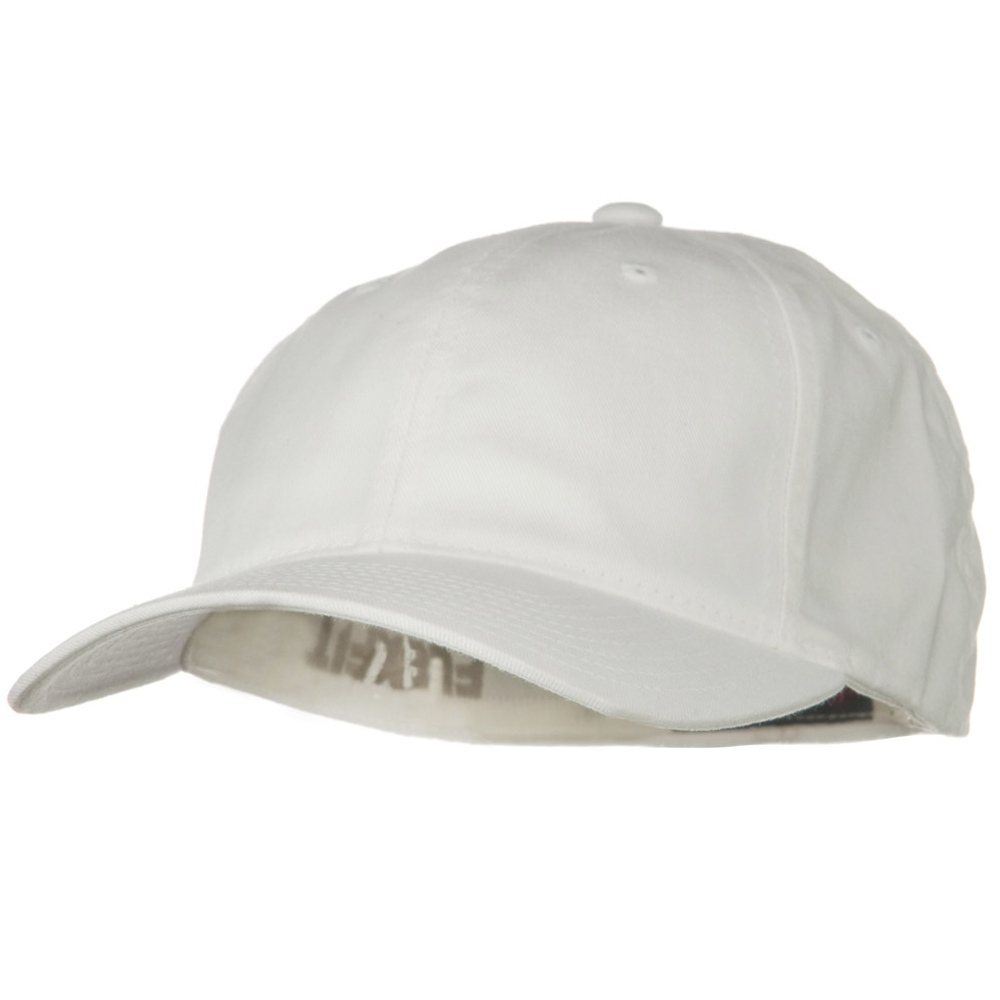 Flexfit Garment Washed Cotton Cap - White - Hats and Caps Online Shop - Hip Head Gear