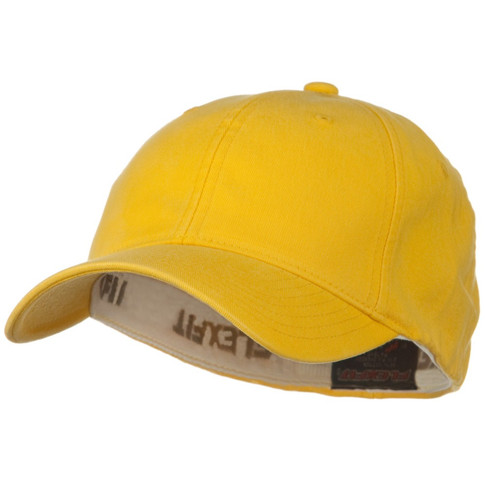 Flexfit Garment Washed Cotton Cap - Yellow - Hats and Caps Online Shop - Hip Head Gear