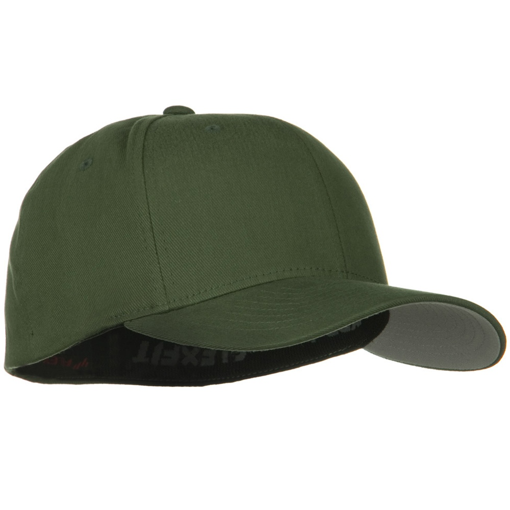 Brushed Twill Flexfit Cap - Pine - Hats and Caps Online Shop - Hip Head Gear