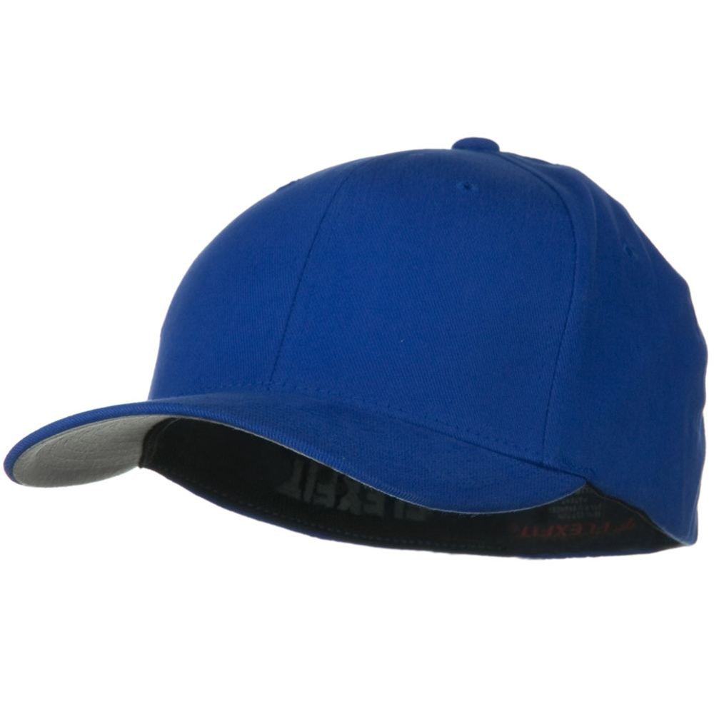 Brushed Twill Flexfit Cap - Royal - Hats and Caps Online Shop - Hip Head Gear