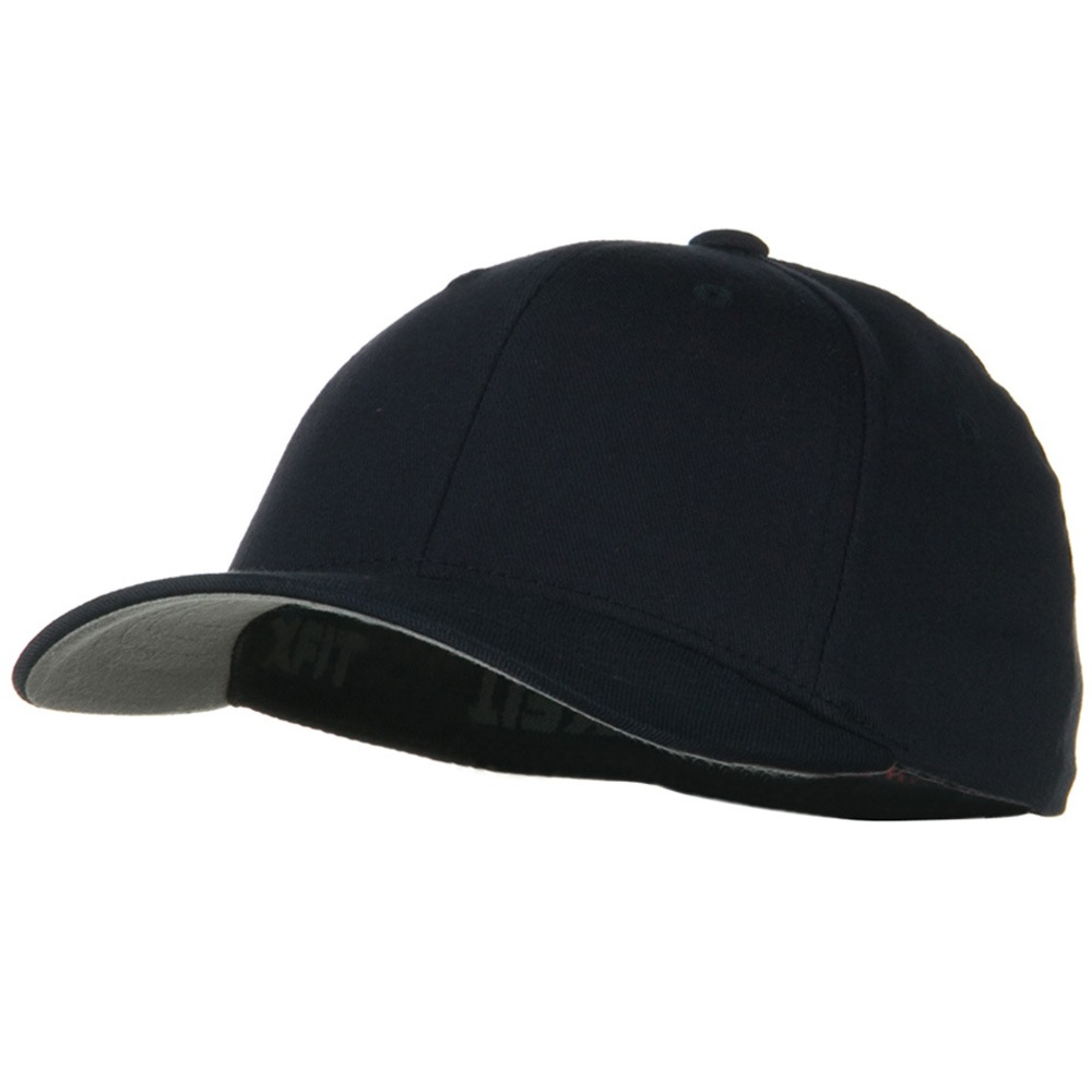 Flexfit Youth Wooly Combed Twill Cap - Dark Navy - Hats and Caps Online Shop - Hip Head Gear