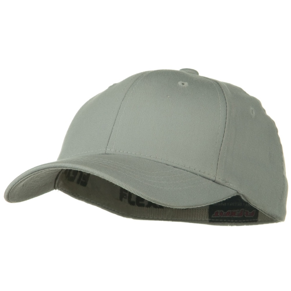 Flexfit Youth Wooly Combed Twill Cap - Grey - Hats and Caps Online Shop - Hip Head Gear