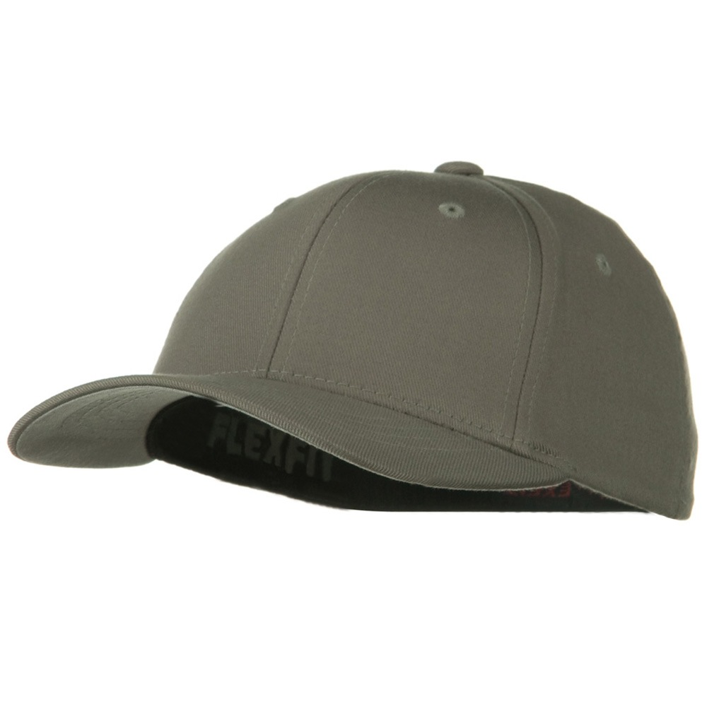 Flexfit Youth Wooly Combed Twill Cap - Silver - Hats and Caps Online Shop - Hip Head Gear