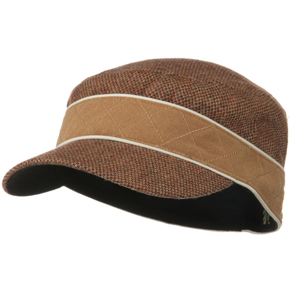 Infinity Wool Blend Army Cap - Camel - Hats and Caps Online Shop - Hip Head Gear