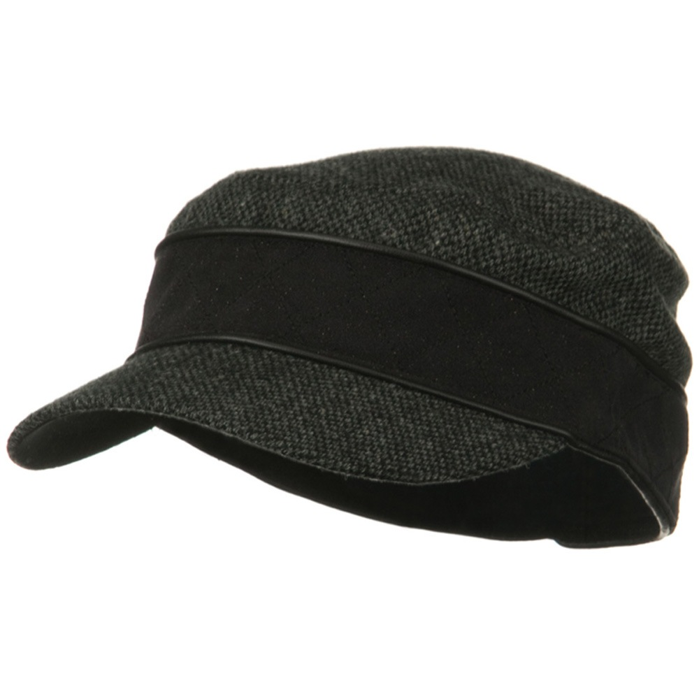 Infinity Wool Blend Army Cap - Black - Hats and Caps Online Shop - Hip Head Gear