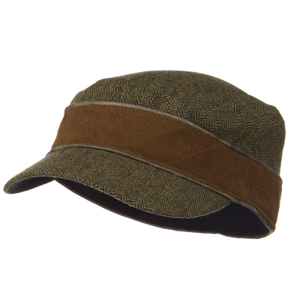 Infinity Wool Blend Army Cap - Olive - Hats and Caps Online Shop - Hip Head Gear