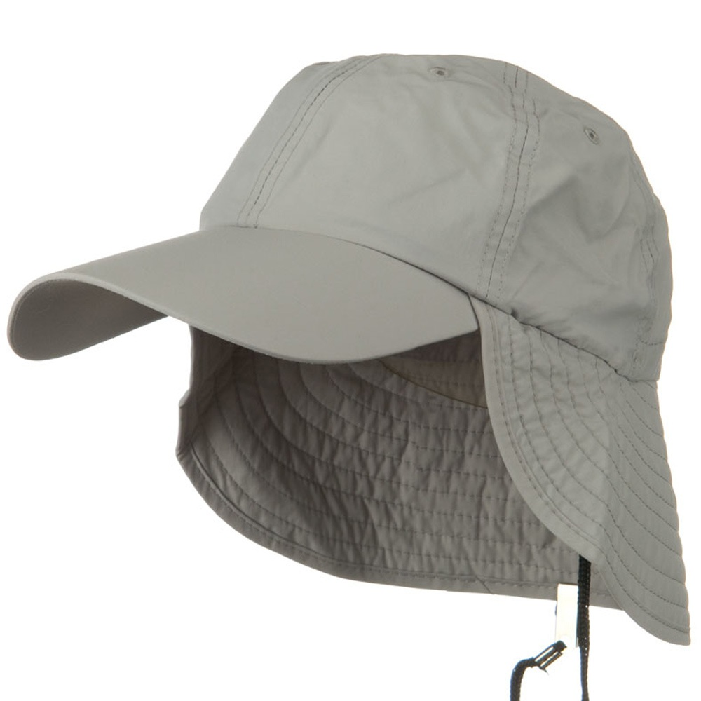 UV 50+ Outdoor Talson UV Flap Cap - Grey - Hats and Caps Online Shop - Hip Head Gear