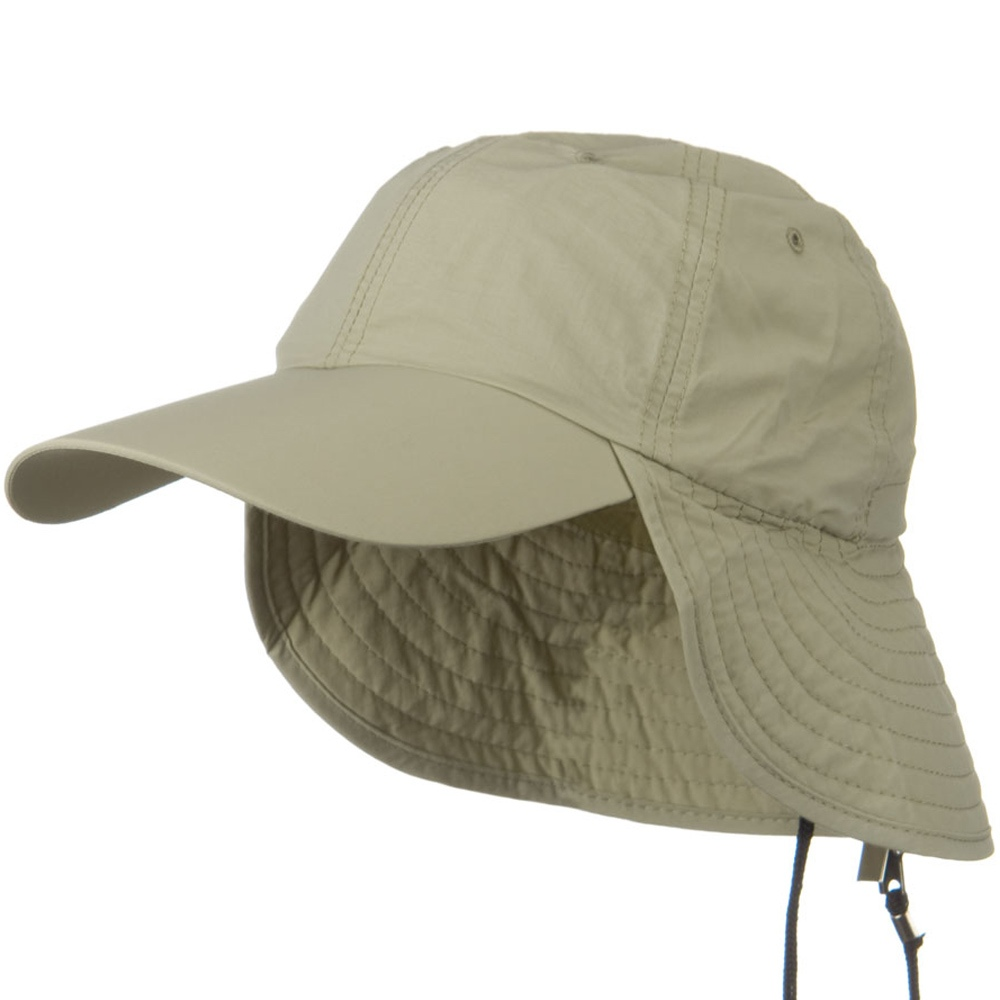 UV 50+ Outdoor Talson UV Flap Cap - Khaki - Hats and Caps Online Shop - Hip Head Gear