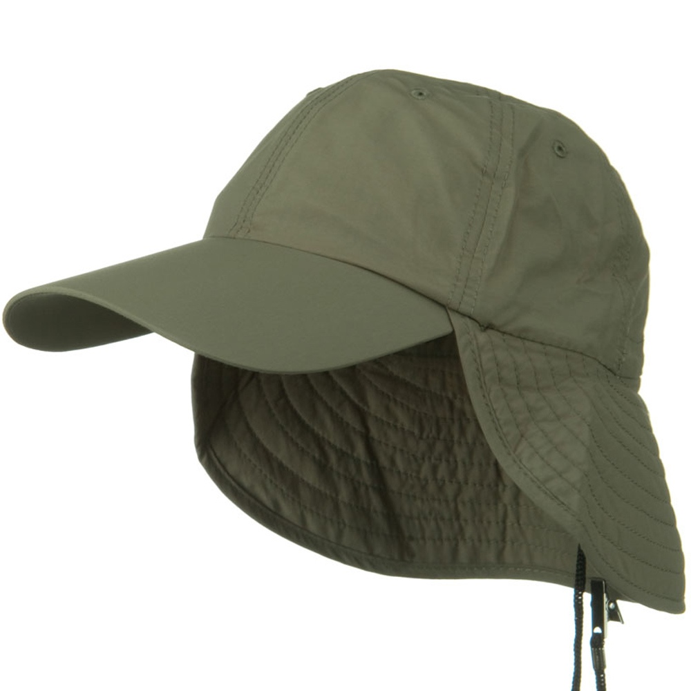 UV 50+ Outdoor Talson UV Flap Cap - Olive - Hats and Caps Online Shop - Hip Head Gear