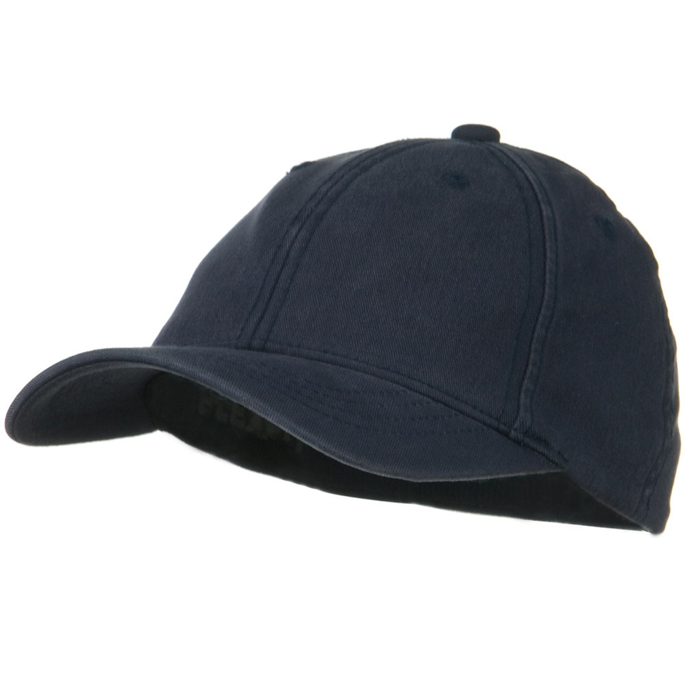 Youth Flexfit Garment Washed Cotton Cap - Navy - Hats and Caps Online Shop - Hip Head Gear