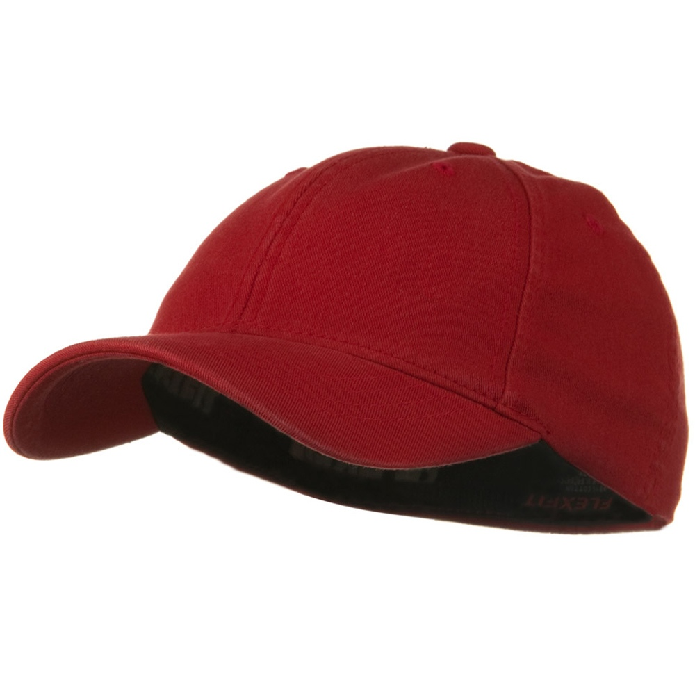 Youth Flexfit Garment Washed Cotton Cap - Red - Hats and Caps Online Shop - Hip Head Gear