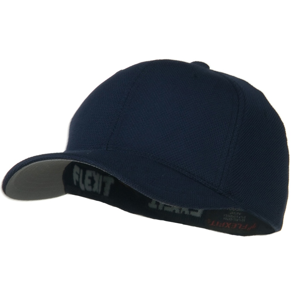 Flexfit Cool and Dry Pique Mesh Cap - Navy - Hats and Caps Online Shop - Hip Head Gear