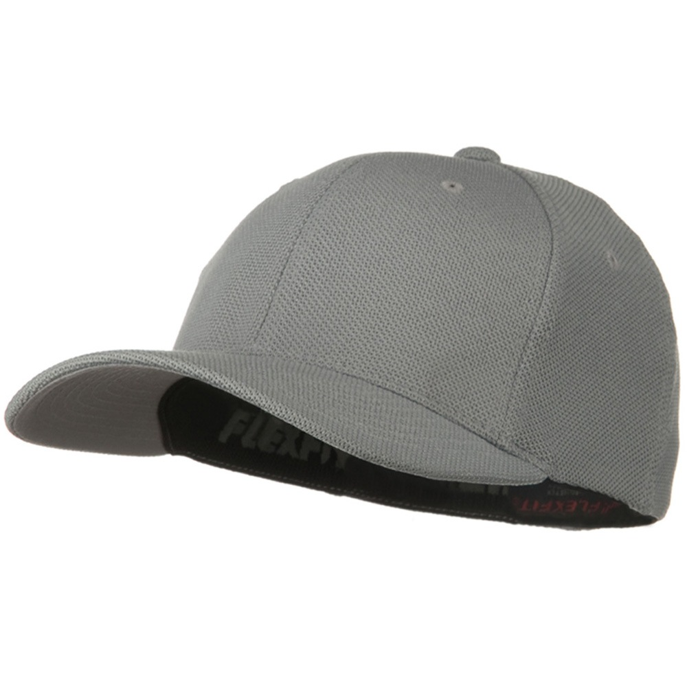 Flexfit Cool and Dry Pique Mesh Cap - Silver - Hats and Caps Online Shop - Hip Head Gear