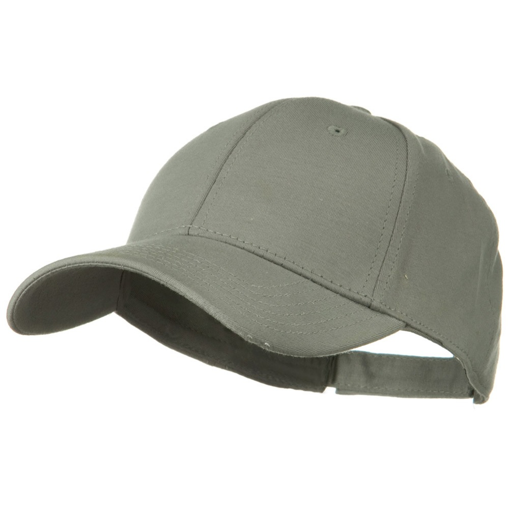 Comfy Cotton Jersey Knit Low Profile Strap Cap - Grey - Hats and Caps Online Shop - Hip Head Gear
