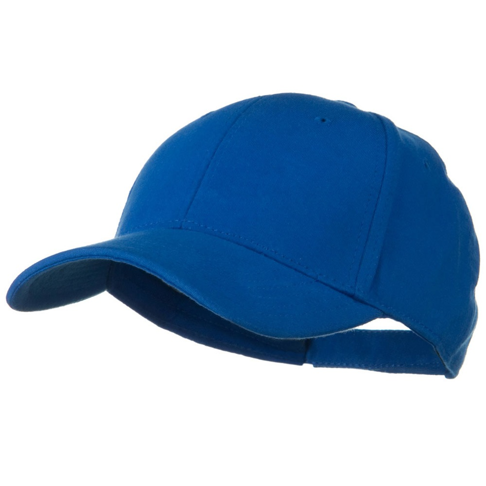 Comfy Cotton Jersey Knit Low Profile Strap Cap - Light Royal - Hats and Caps Online Shop - Hip Head Gear