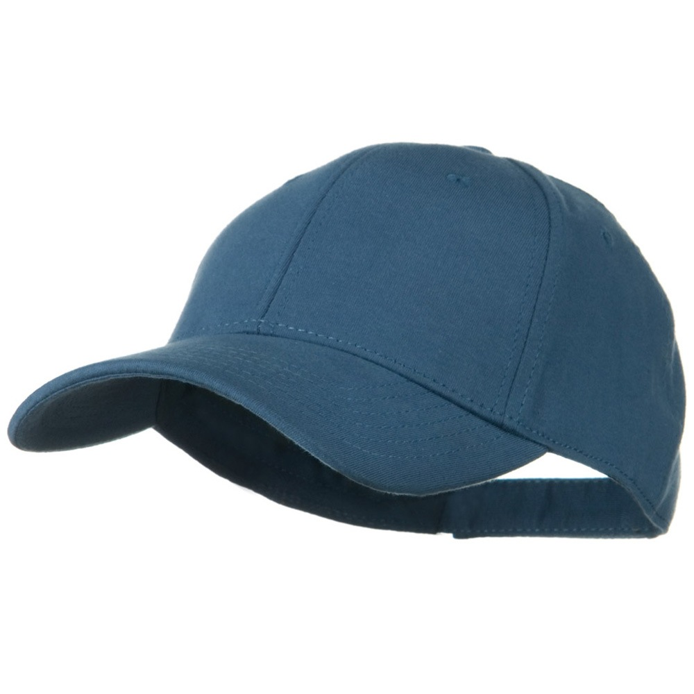 Comfy Cotton Jersey Knit Low Profile Strap Cap - Indigo Blue - Hats and Caps Online Shop - Hip Head Gear