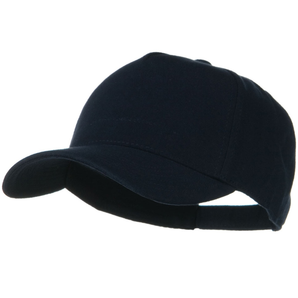 Comfy Cotton Jersey Knit 5 Panel Cap - Navy - Hats and Caps Online Shop - Hip Head Gear
