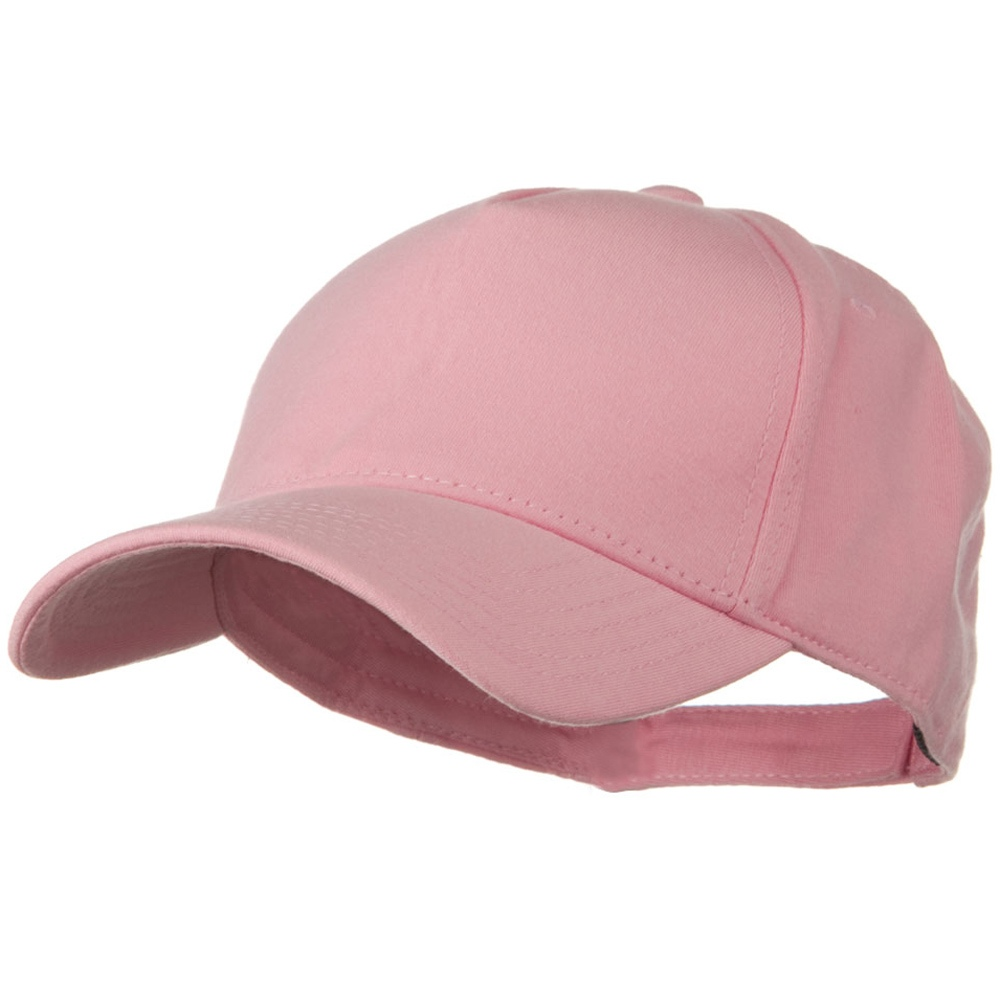 Comfy Cotton Jersey Knit 5 Panel Cap - Pink - Hats and Caps Online Shop - Hip Head Gear