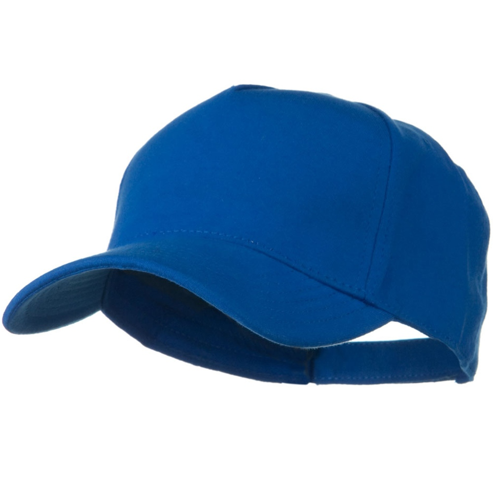 Comfy Cotton Jersey Knit 5 Panel Cap - Light Royal - Hats and Caps Online Shop - Hip Head Gear