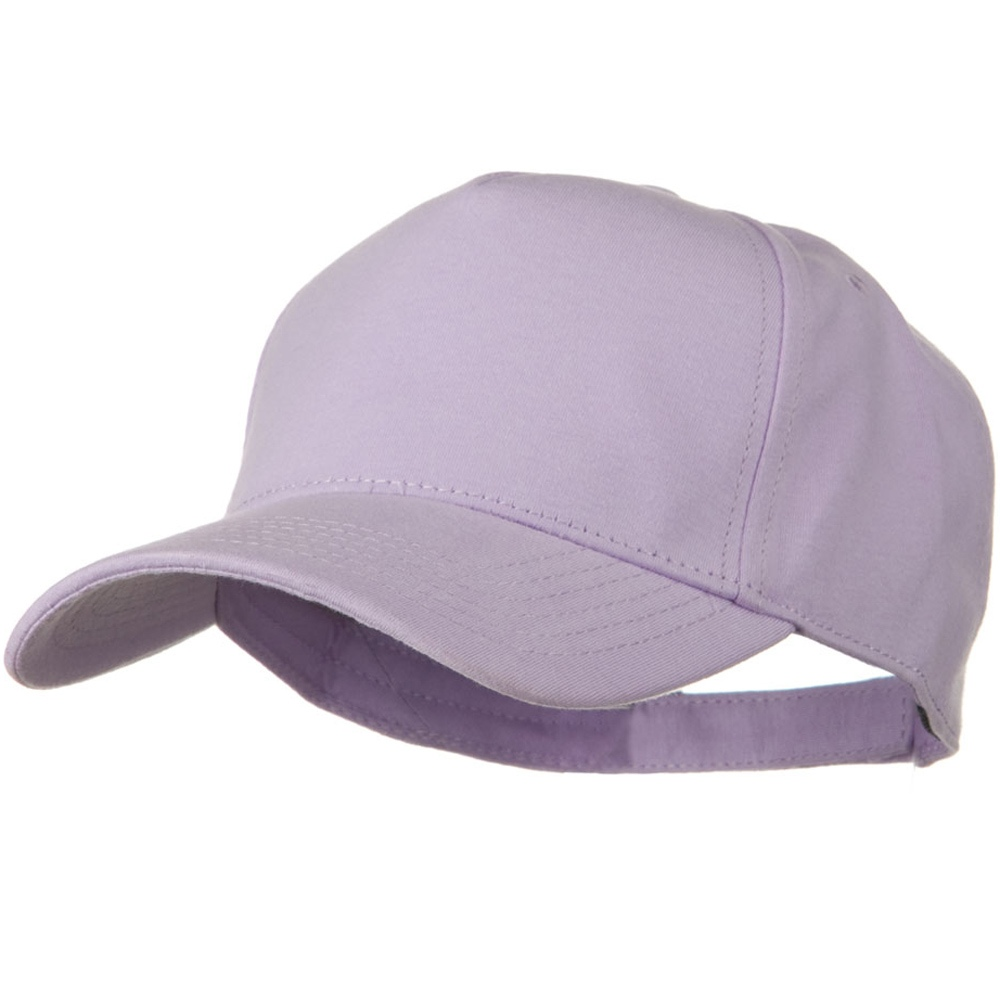 Comfy Cotton Jersey Knit 5 Panel Cap - Orchid - Hats and Caps Online Shop - Hip Head Gear