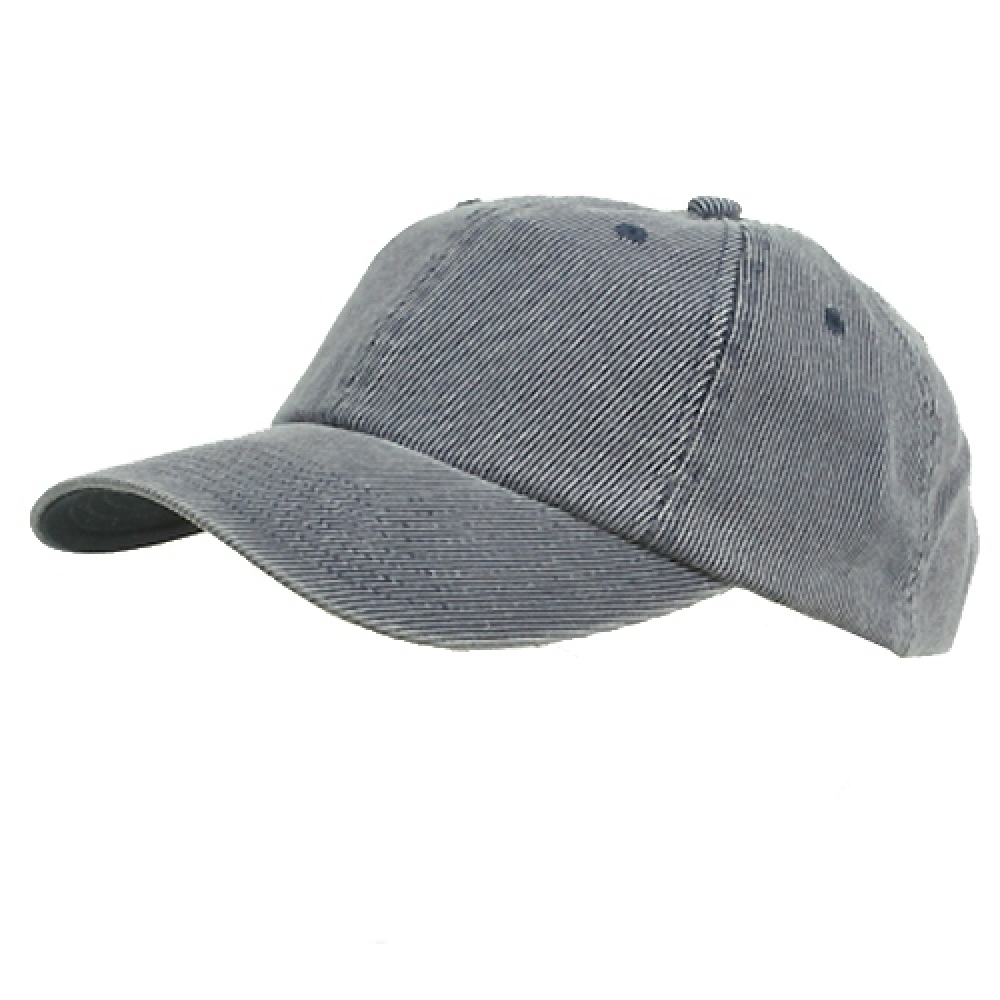 Corduroy Cotton Washed Cap-Navy