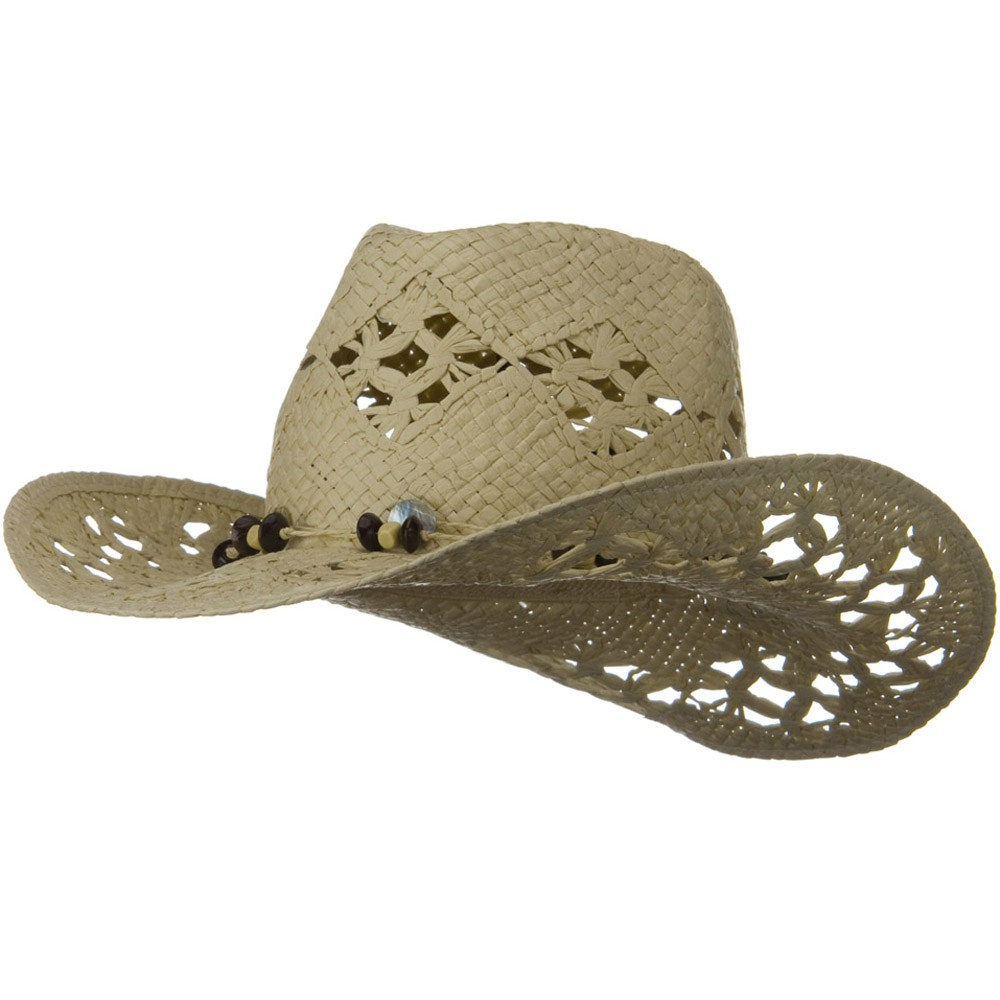 Ladies Vented Toyo Cowboy Hat - Natural - Hats and Caps Online Shop - Hip Head Gear