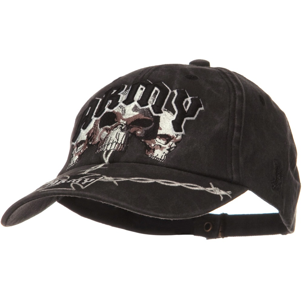 US Army Unit Pigment Dyed Cap - Skull - Hats and Caps Online Shop - Hip Head Gear