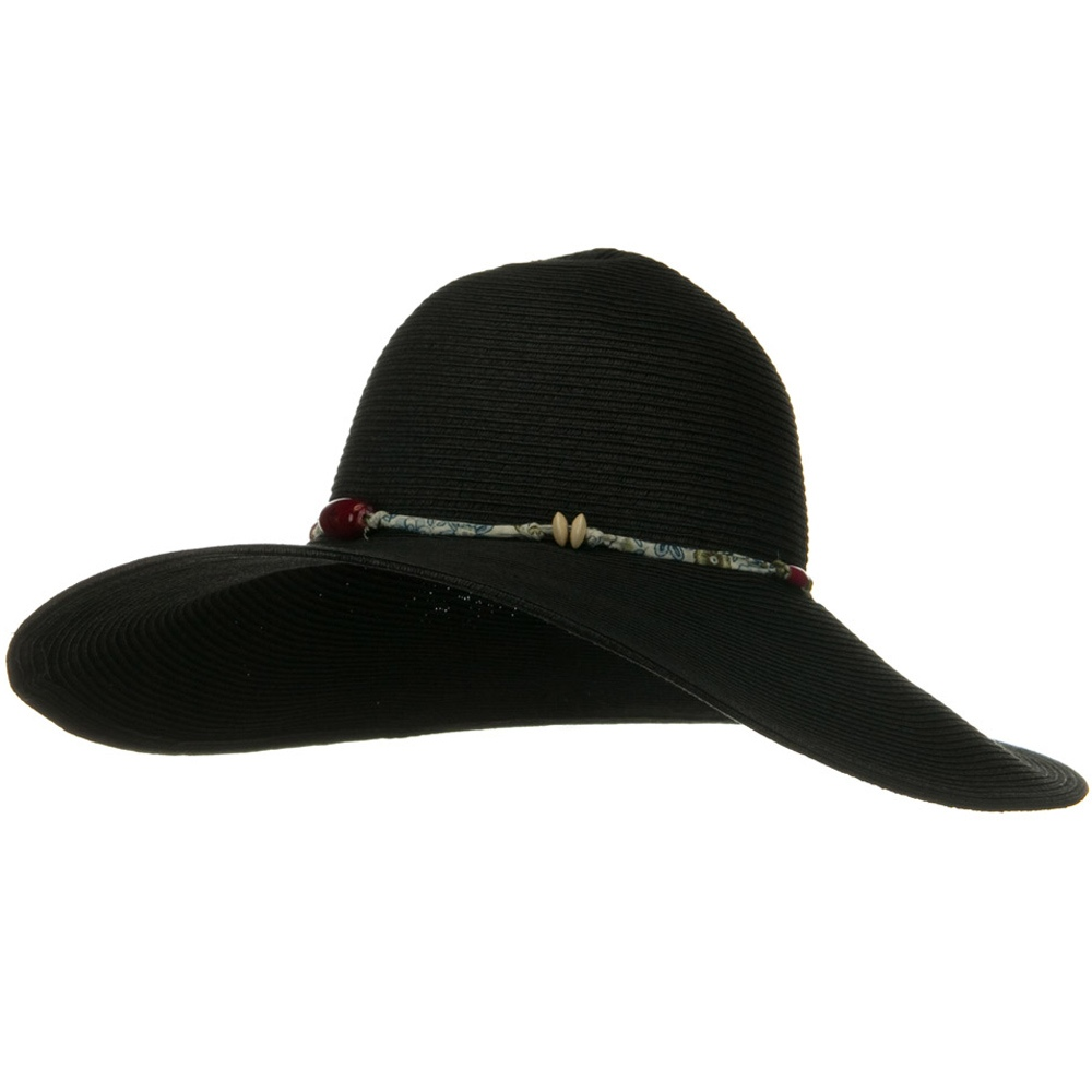 5 Inch Wide Fashion Toyo Hat - Black - Hats and Caps Online Shop - Hip Head Gear