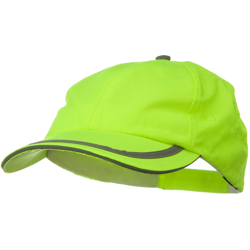 Constructed High Visibility Low Profile Cap - Neon Yellow - Hats and Caps Online Shop - Hip Head Gear