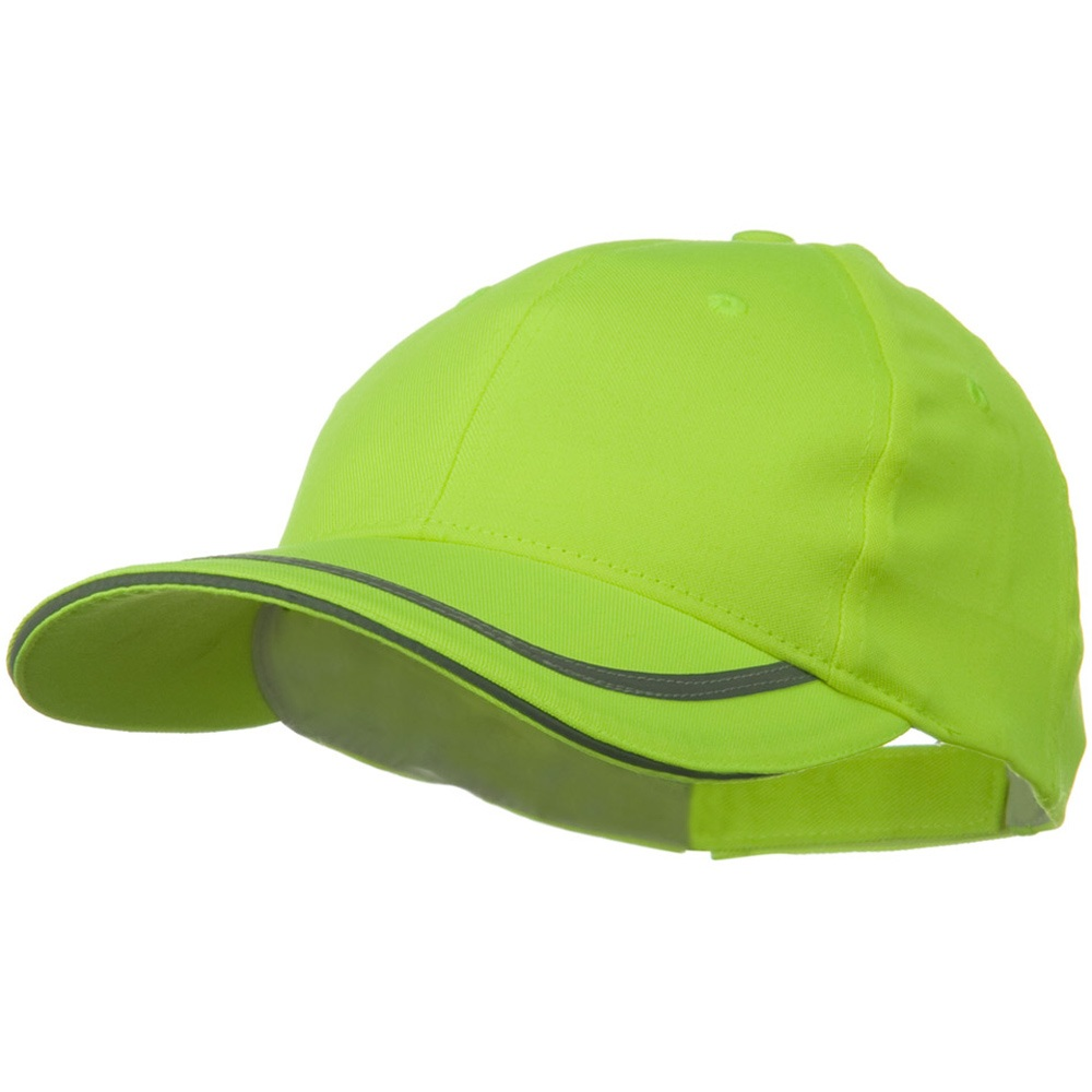 6 Panel Poly Twill Safety Cap - Yellow - Hats and Caps Online Shop - Hip Head Gear