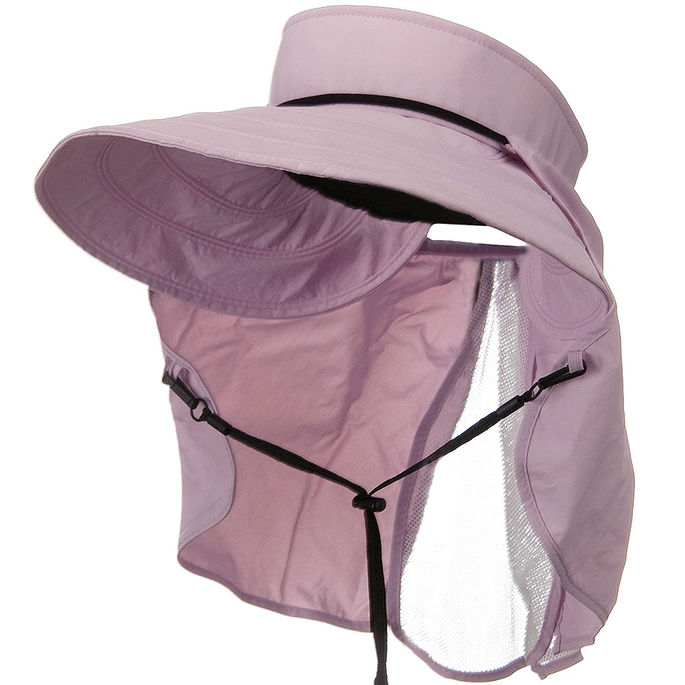 UV 50+ Talson Visor with Flap - Pink - Hats and Caps Online Shop - Hip Head Gear