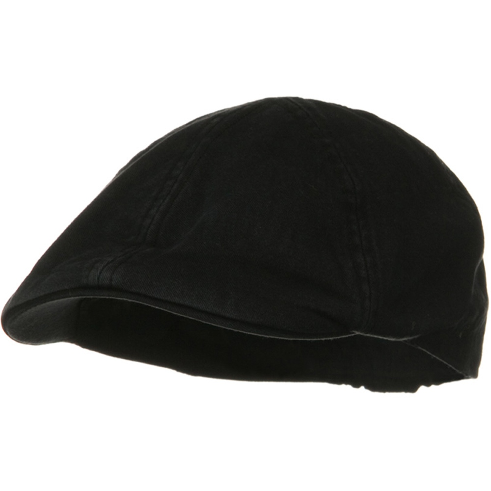 Washed Cotton Ivy Cap - Black - Hats and Caps Online Shop - Hip Head Gear