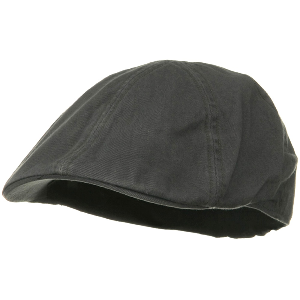 Washed Cotton Ivy Cap - Grey - Hats and Caps Online Shop - Hip Head Gear