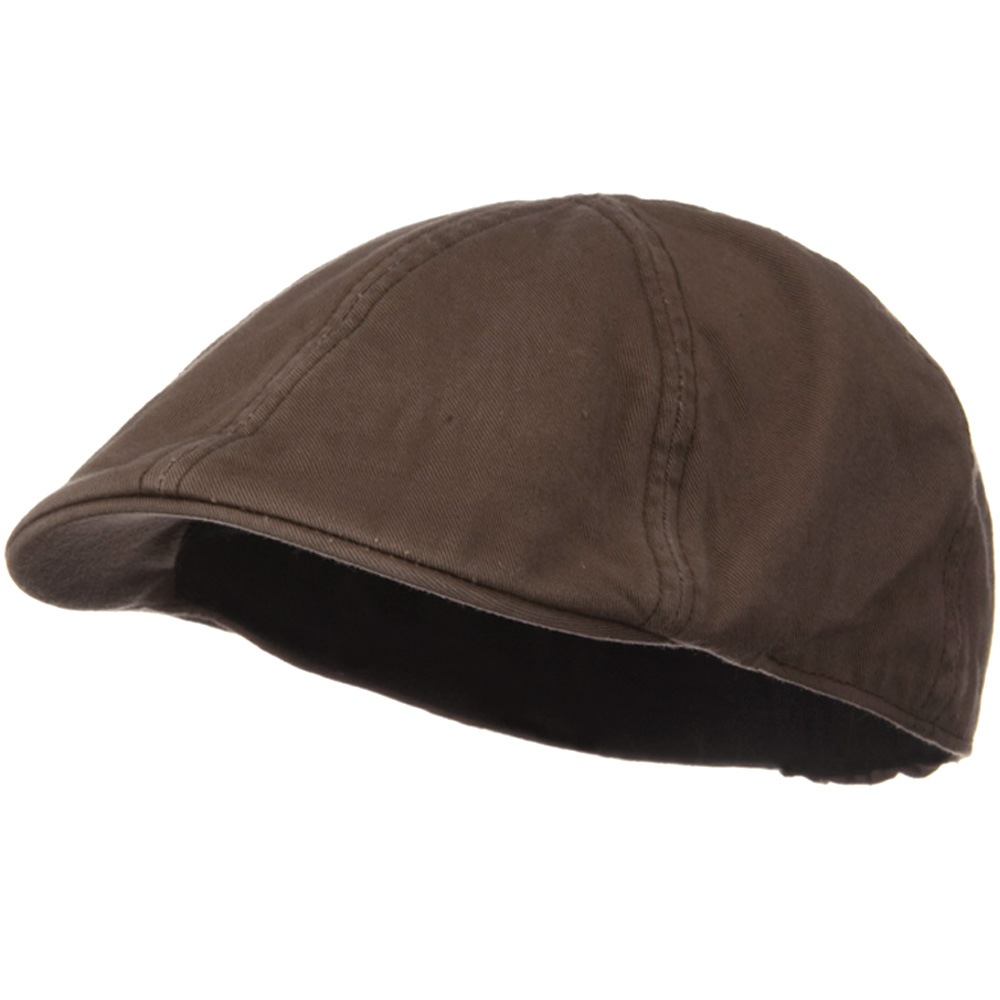 Washed Cotton Ivy Cap - Brown - Hats and Caps Online Shop - Hip Head Gear