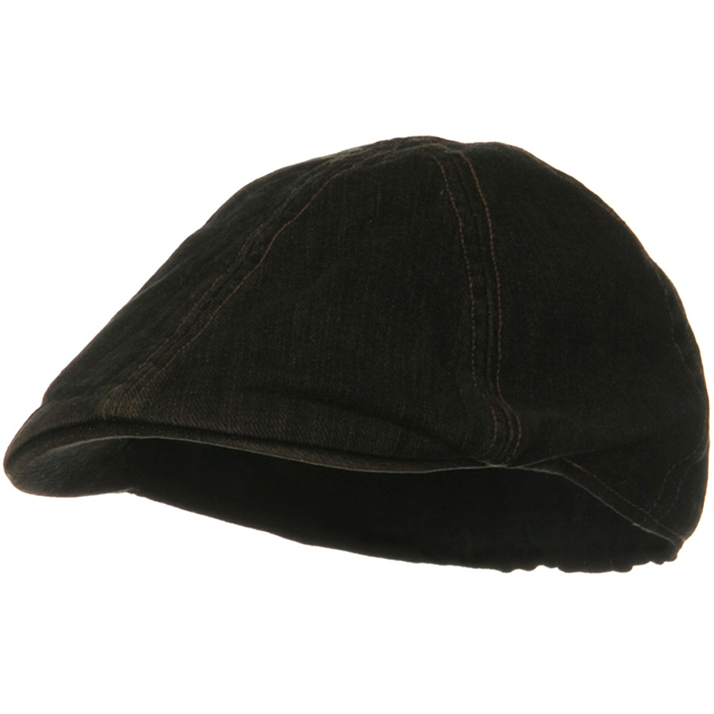 Washed Cotton Ivy Cap - Black Denim - Hats and Caps Online Shop - Hip Head Gear