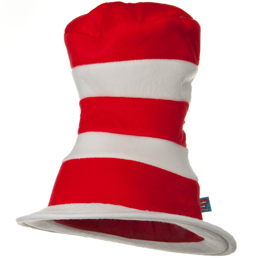 Dr. Seuss Deluxe Hat - Red White - Hats and Caps Online Shop - Hip Head Gear