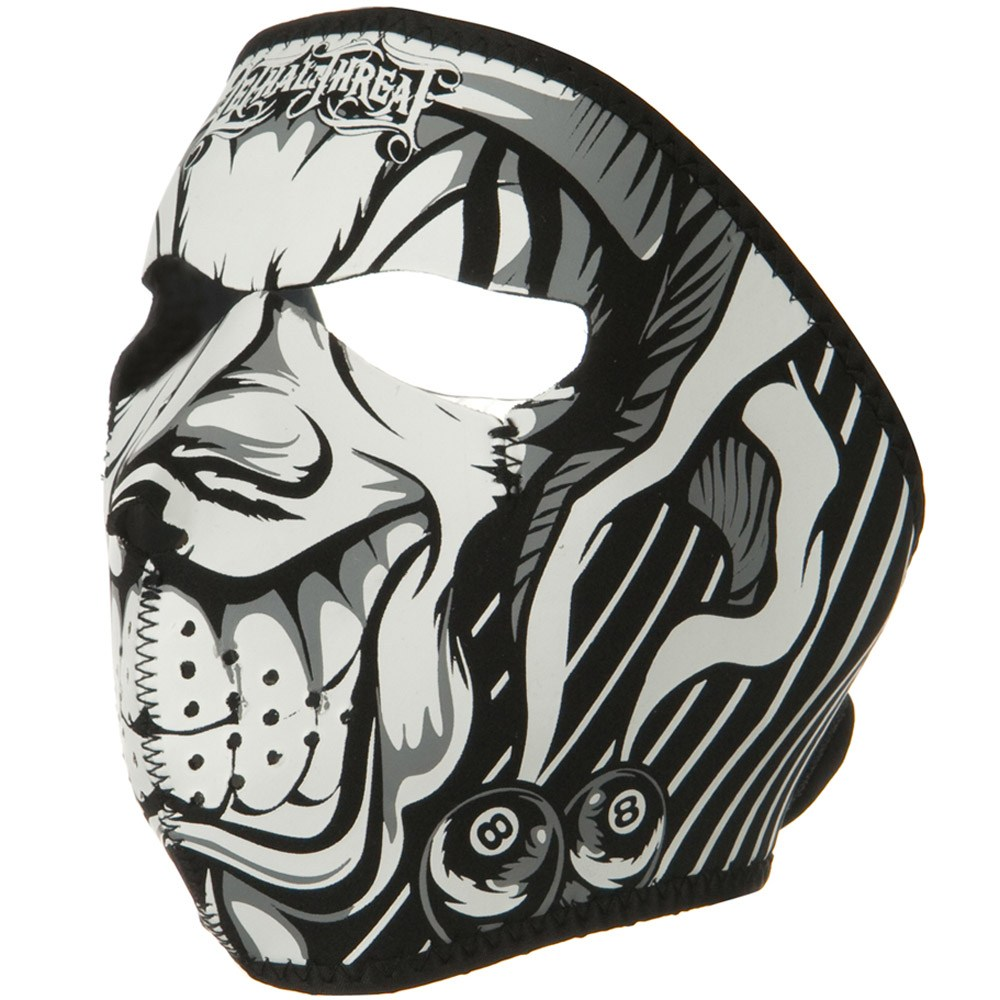 Lethal Threat Face Mask - Jester - Hats and Caps Online Shop - Hip Head Gear