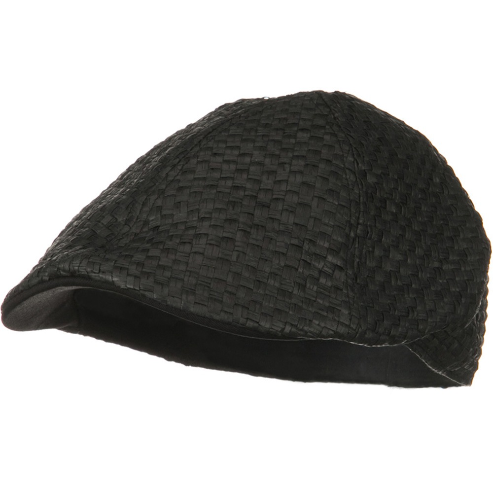 ML Straw Ivy Cap - Black - Hats and Caps Online Shop - Hip Head Gear