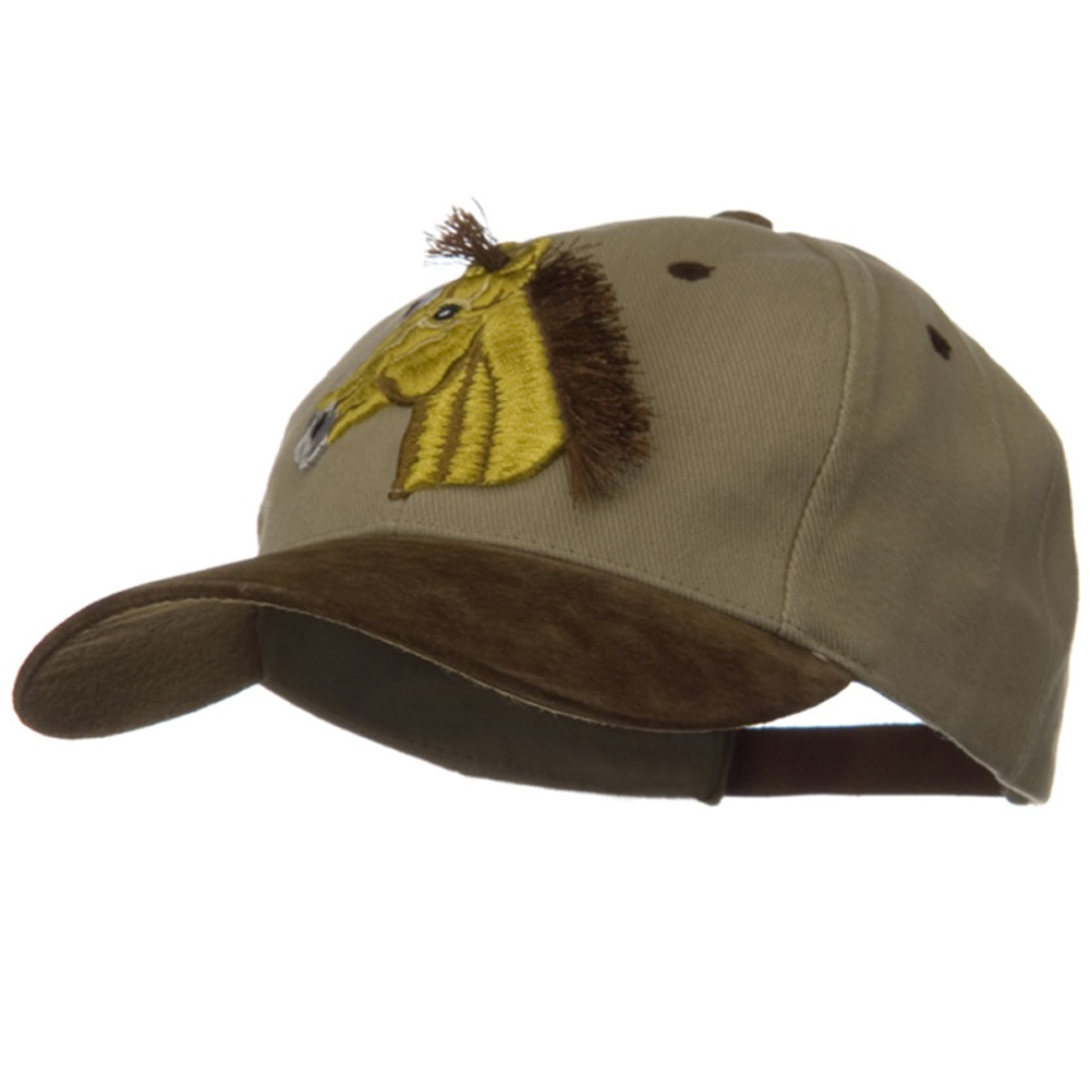 3D Animal Embroidered Theme Cap - Horse - Hats and Caps Online Shop - Hip Head Gear