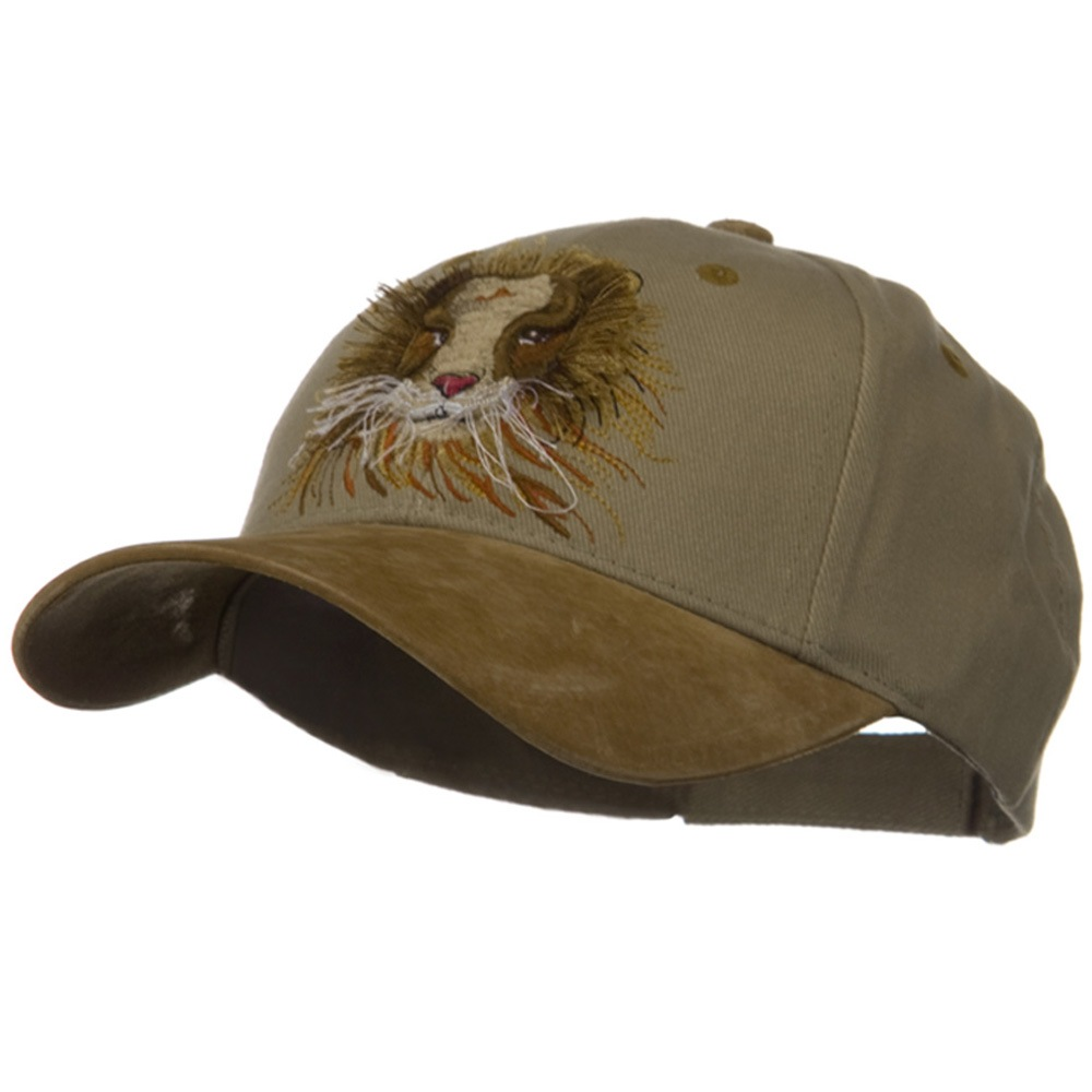 3D Animal Embroidered Theme Cap - Lion - Hats and Caps Online Shop - Hip Head Gear