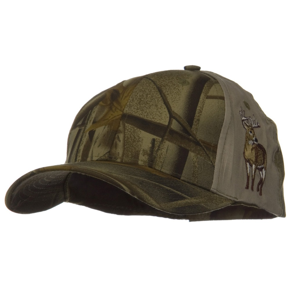 Hunter Green Tree Root Wood Cap - Green Deer - Hats and Caps Online Shop - Hip Head Gear