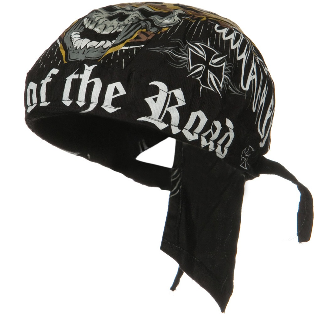 Road Hog Lethal Threat Sweatband Headwrap - King of the Road - Hats and Caps Online Shop - Hip Head Gear