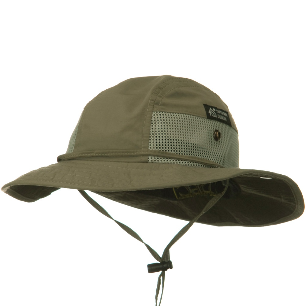 UPF 50+ Trail Mesh Hats-Fossil - Hats and Caps Online Shop - Hip Head Gear